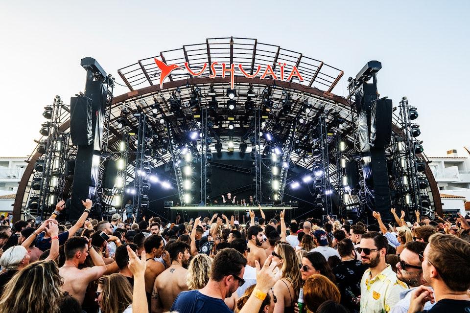 Ushuaia. Ibiza. October 2019. -