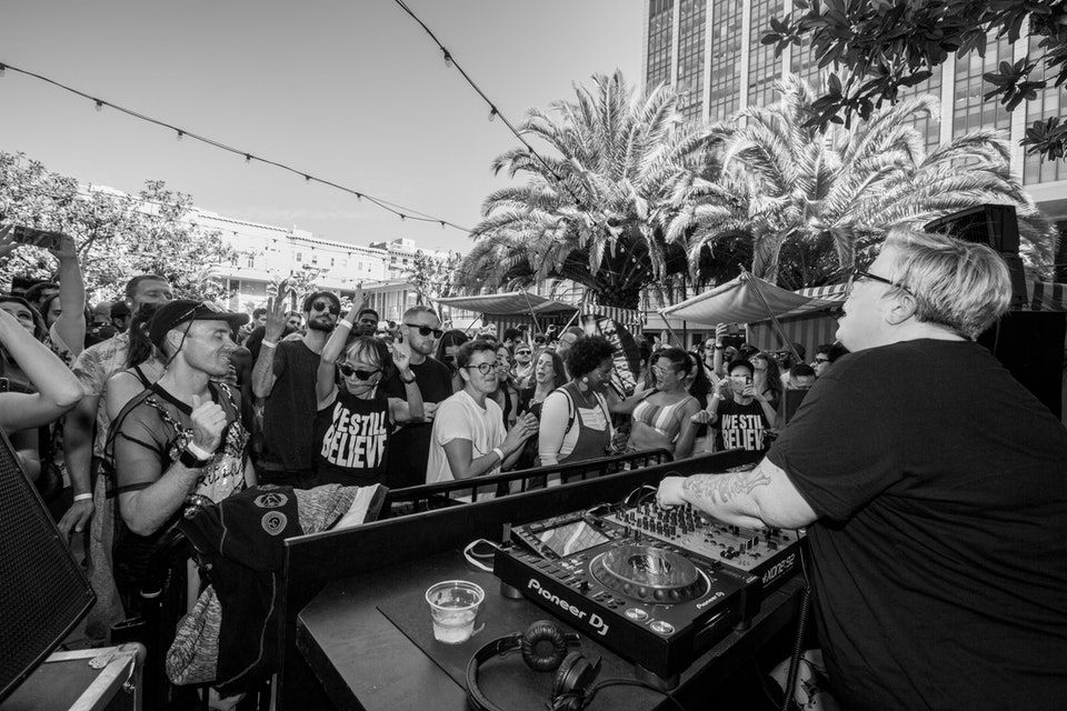 Phoenix Hotel Pool Party. San Francisco. September 2019. -