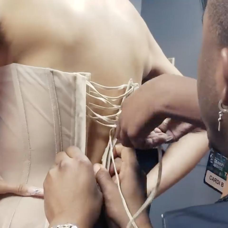 Behind Cardi B's Grammys Looks x Vogue - Screen Shot 2021-04-23 at 12.52.35 am