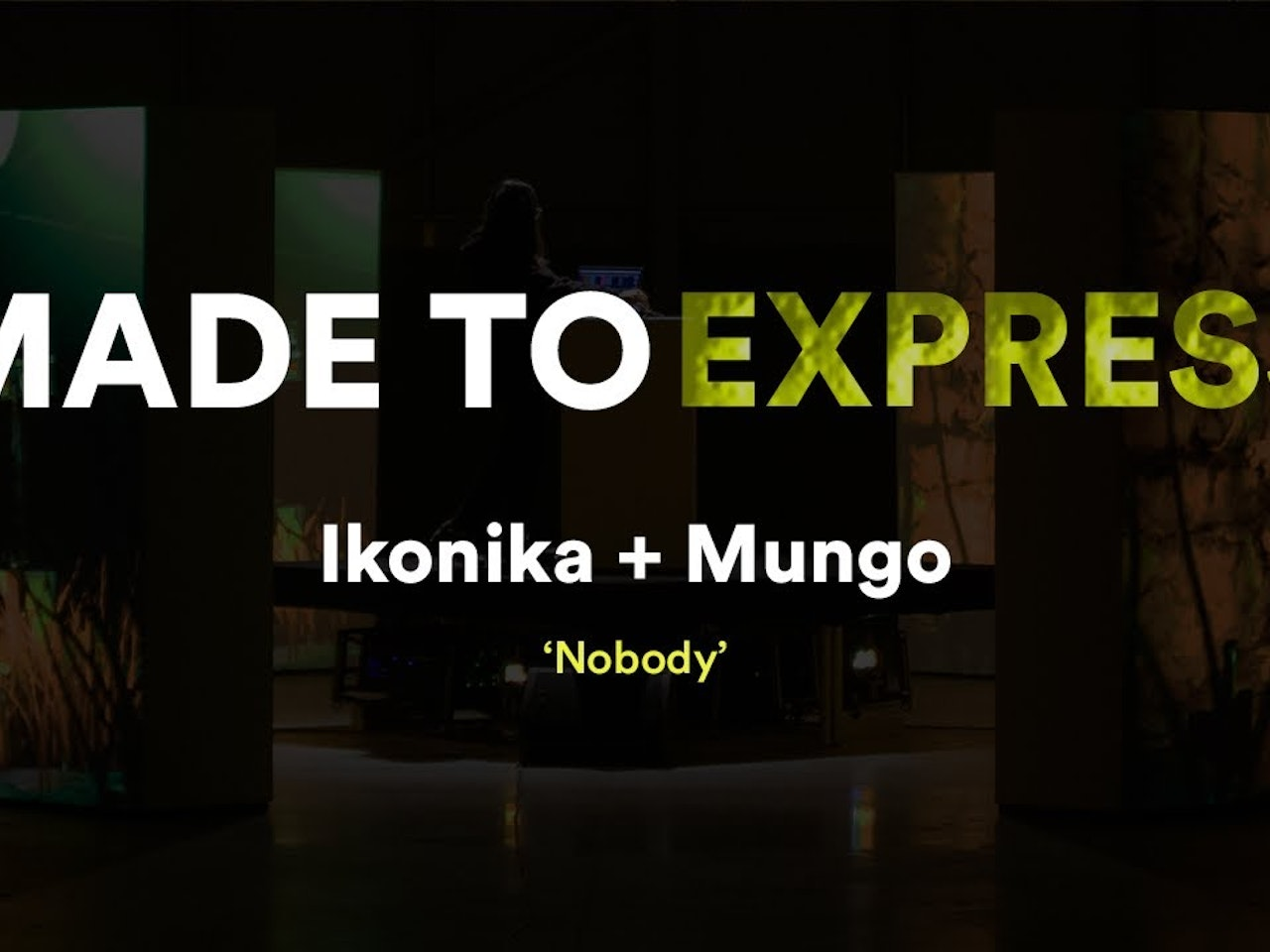 Ikonika + MUNGO 'Nobody' - Made to express // Novation