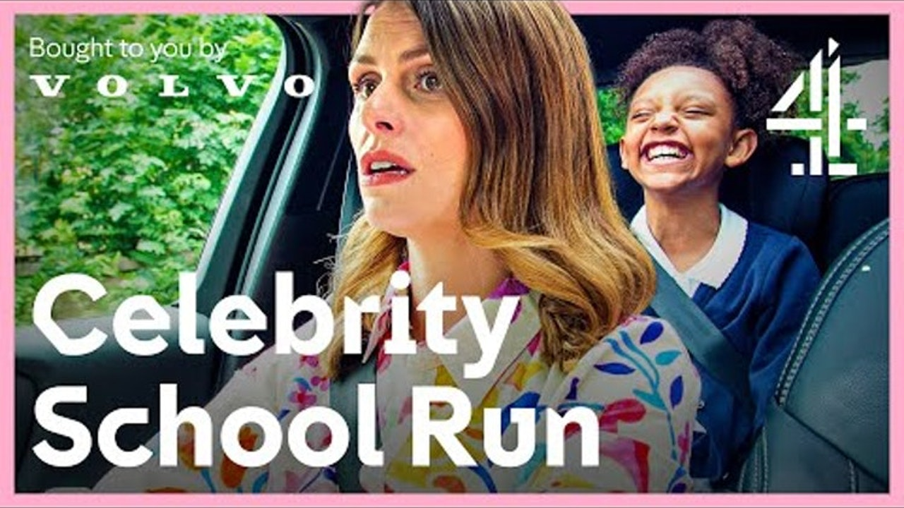 Celebrity School Run - C4 Digital