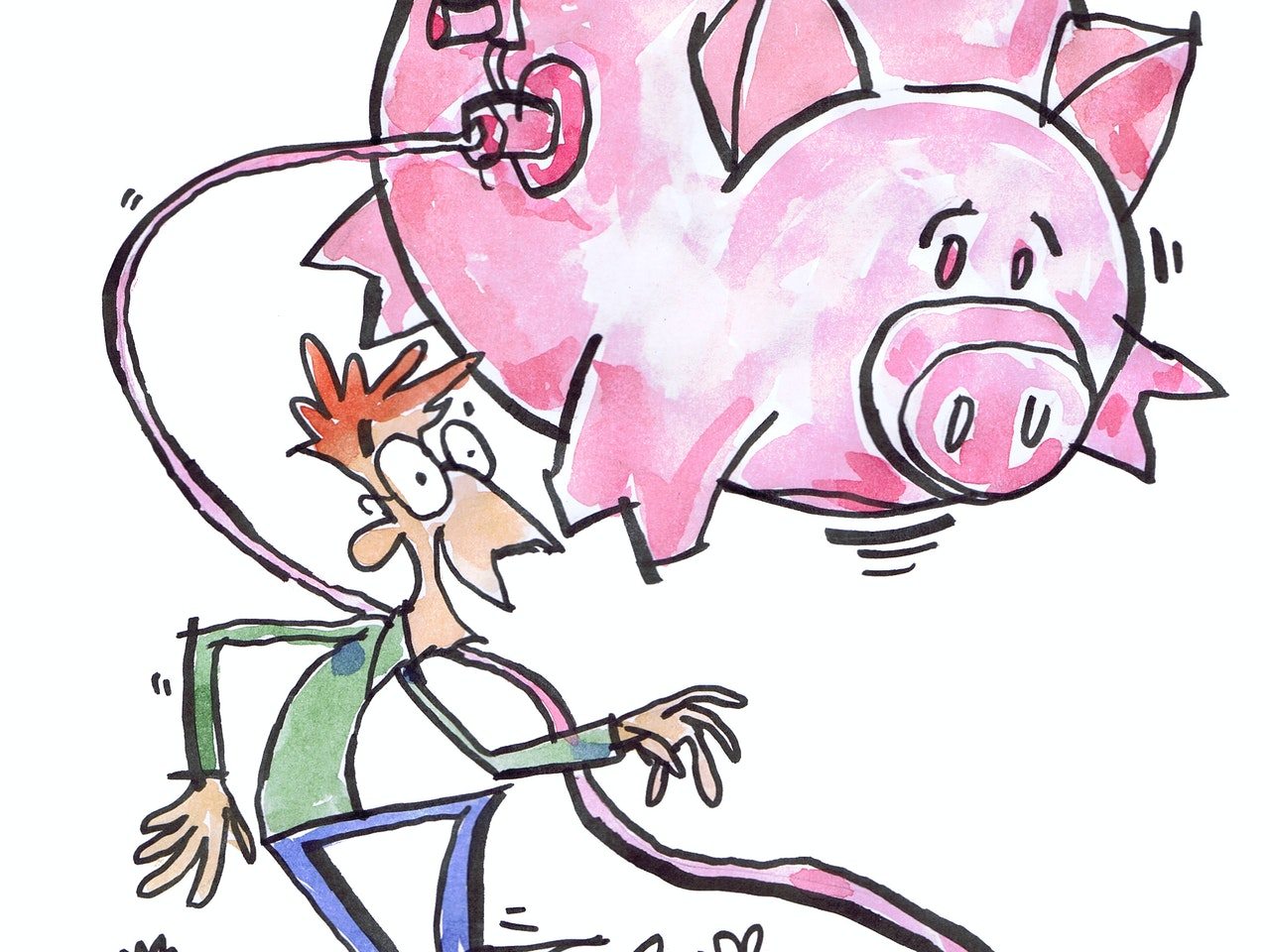 finances money banking savings account inflation funny watercolour painting pen and ink coloured pencil Book cover childrens illustration animation funny  humorous comical colourful graphic novel comic strip cartoon comic book educational publishing