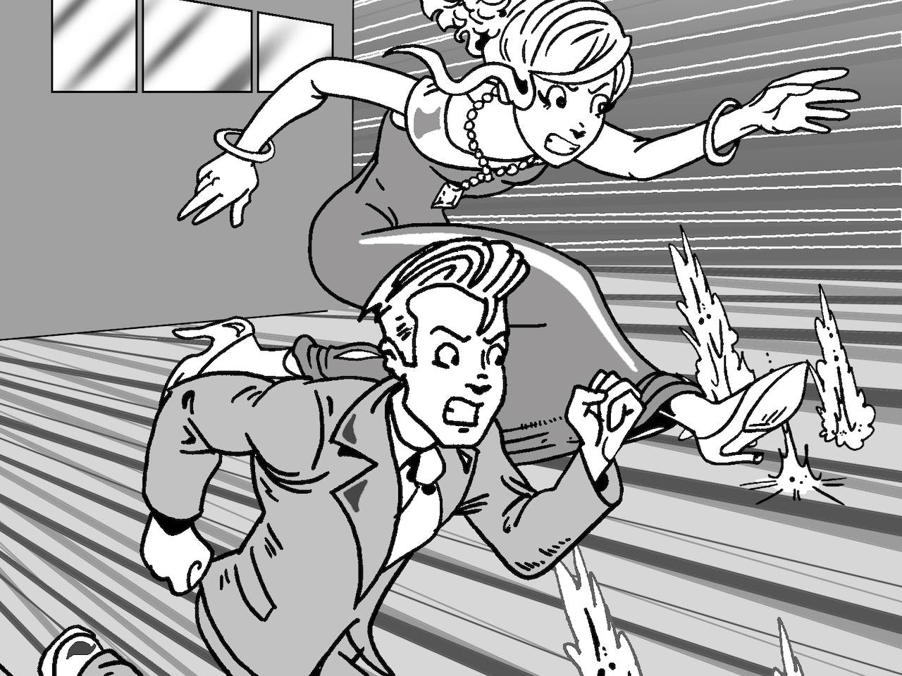 mystery detective  adventure danger spies james bond teen manga anime childrens cartoon comic strip Book cover illustration animation