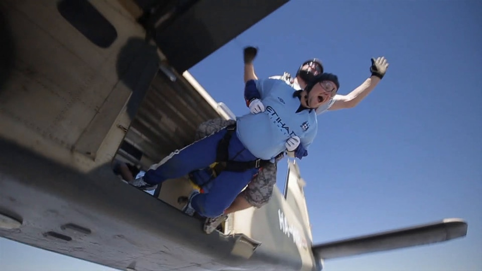 Umbro Show Your City - Skydive