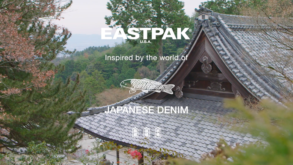 Eastpak IWO Japanese Denim - Boro