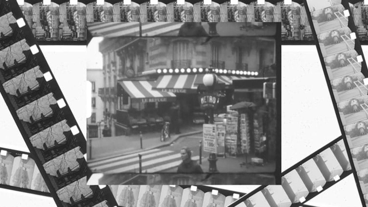 Paris on black and white Tri-x 7266 Super8