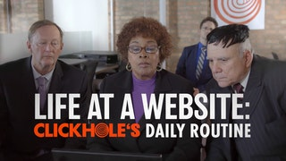 Behind The Scenes At ClickHole: Our Daily Routine
