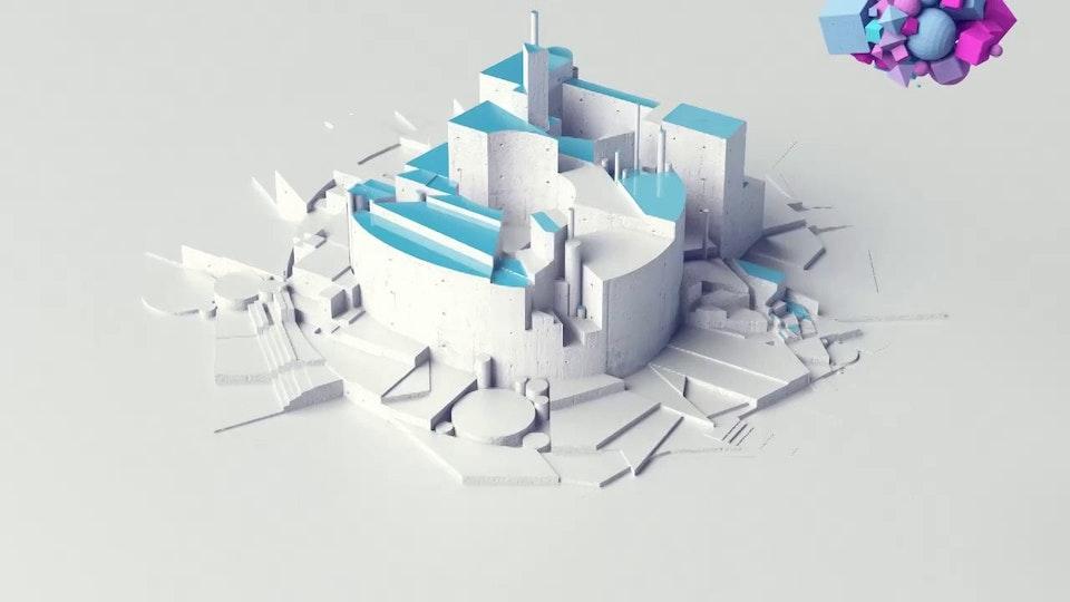 "Fernando Lazzari / Design and Direction - Channel 5 / 5 Star ""Magnet"" Ident"