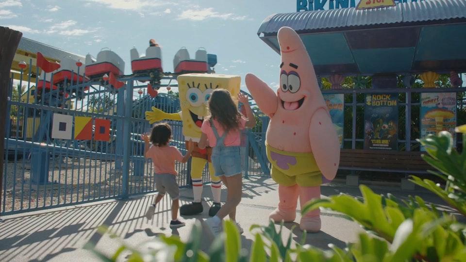 Sea World x Nickelodeon TVC