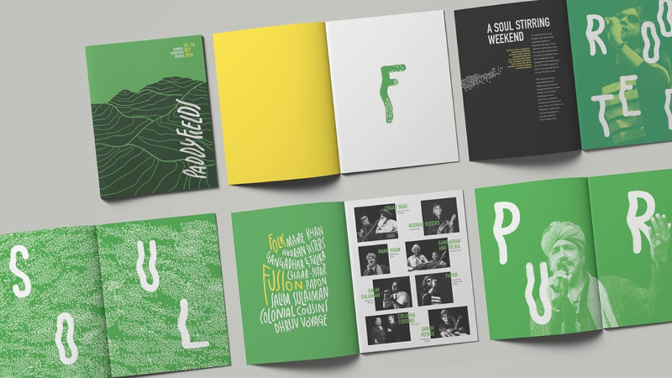 Visual Identity Design for a music festival