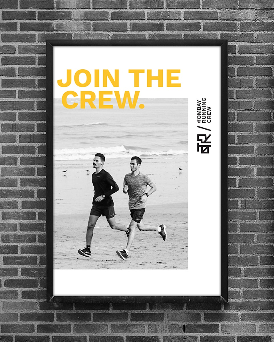 Visual Identity Design for a running club