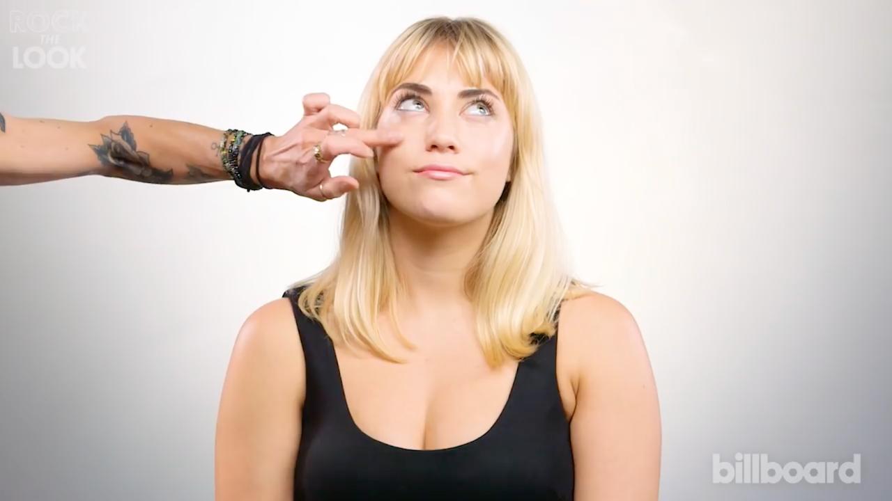 Rock The Look | Stevie Nicks Makeup Tutorial | Billboard -