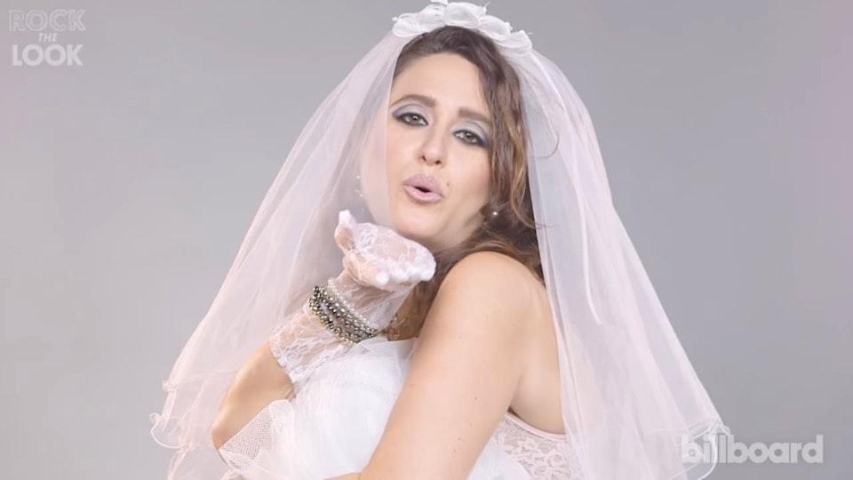 Rock The Look | Madonna 'Like a Virgin' Makeup Tutorial | Billboard