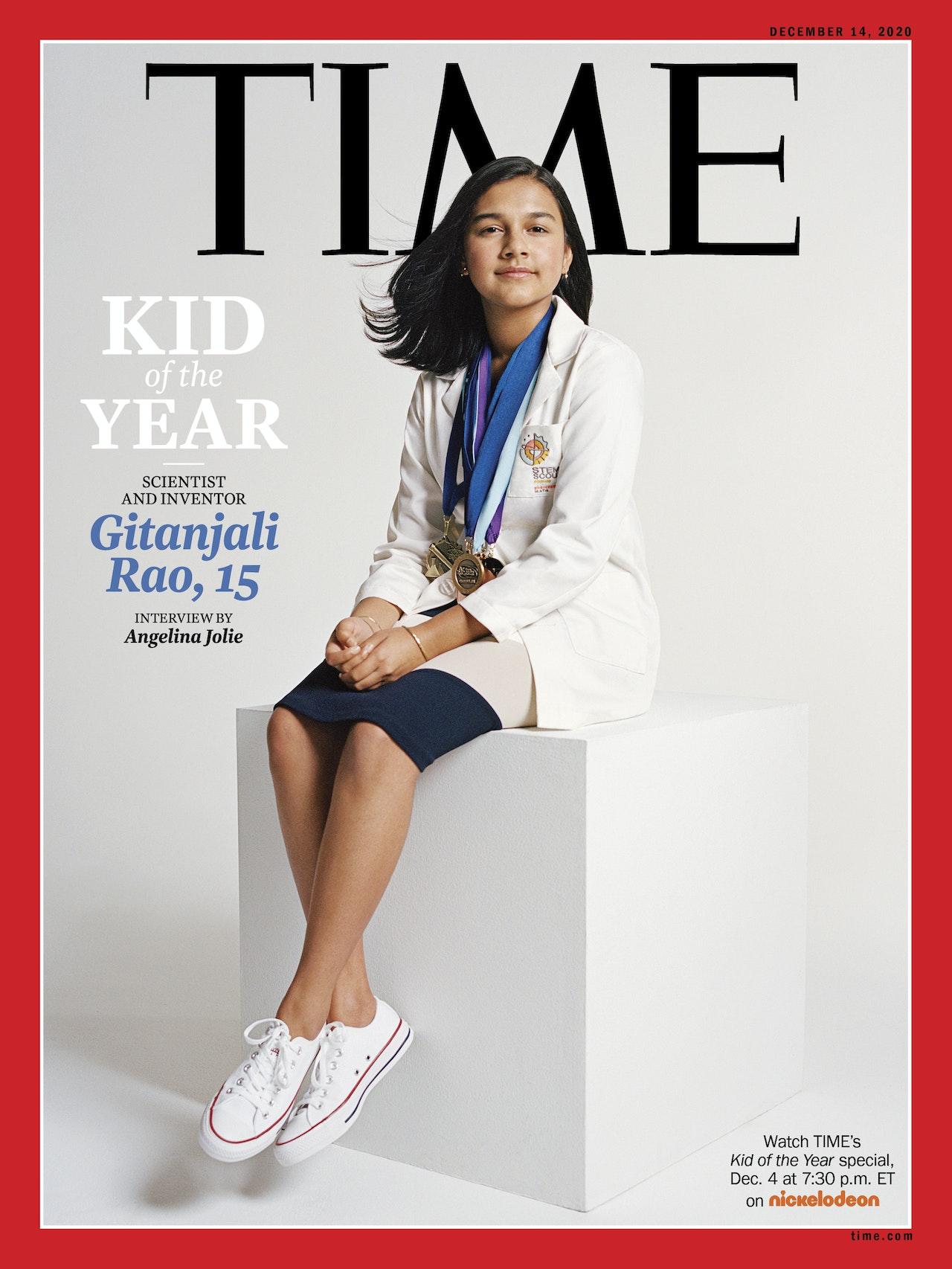 "Time Magazine 2020 ""Kid of the Year"" Gitanjali Rao Interview - ""A Promised Land"" Series of Interviews. Entrevue Gitanjali Rao, Enfant de l'année du Magazine Time."