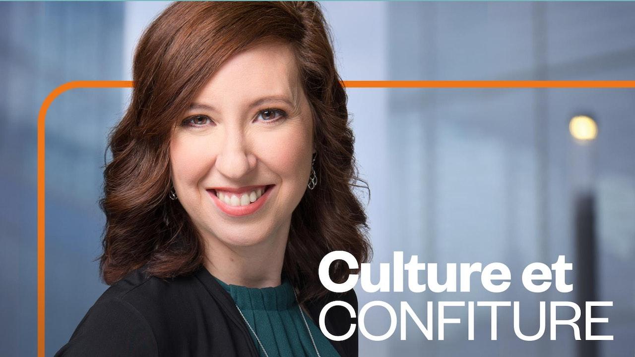 """Our appearance on French CBC's """"Culture & Confiture"""" - Notre apparition à l'émission Culture et Confiture à la radio de Radio-Canada."""