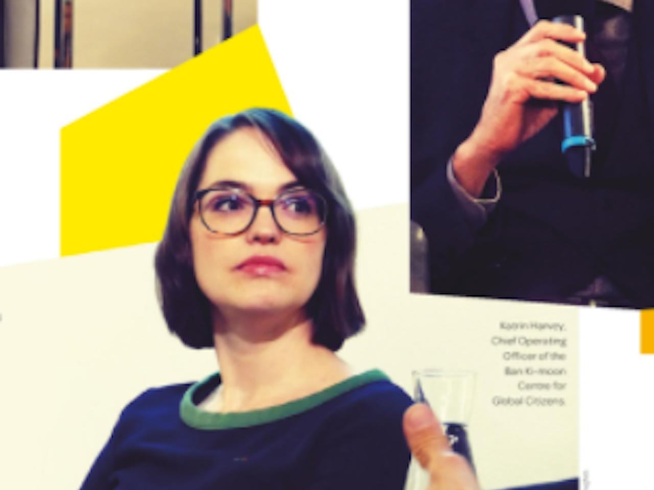 "Season 1 - ""World Greats"" Series - Katrin Harvey Interview - COO for Ban Ki-Moon Centre for Global Citizens"