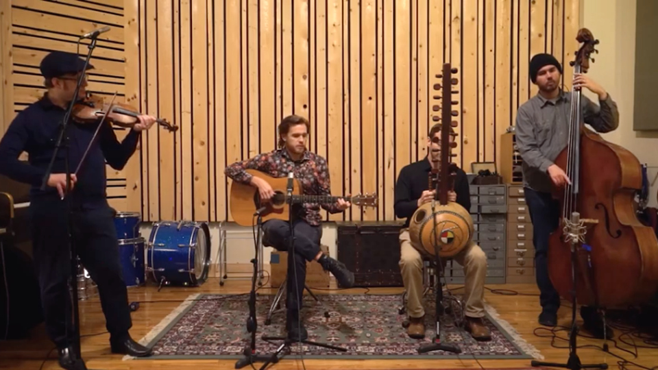 """KRIS KELLY - """"OLD BLUE"""" LIVE WITH KORA, VIOLIN, AND DOUBLE BASS"""