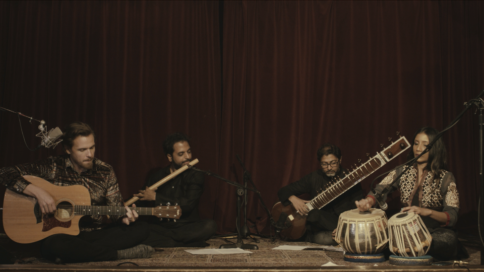 "KRIS KELLY - ""BIRTHPLACE"" LIVE PERFORMANCE WITH SITAR, TABLA, AND BANSURI"