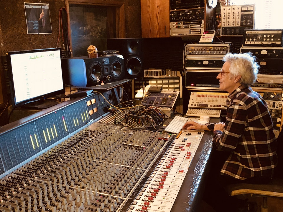 "TODD SICKAFOOSE RECORDS DOUBLE BASS AT GUNG HO STUDIO FOR ""RUNAWAYS"""