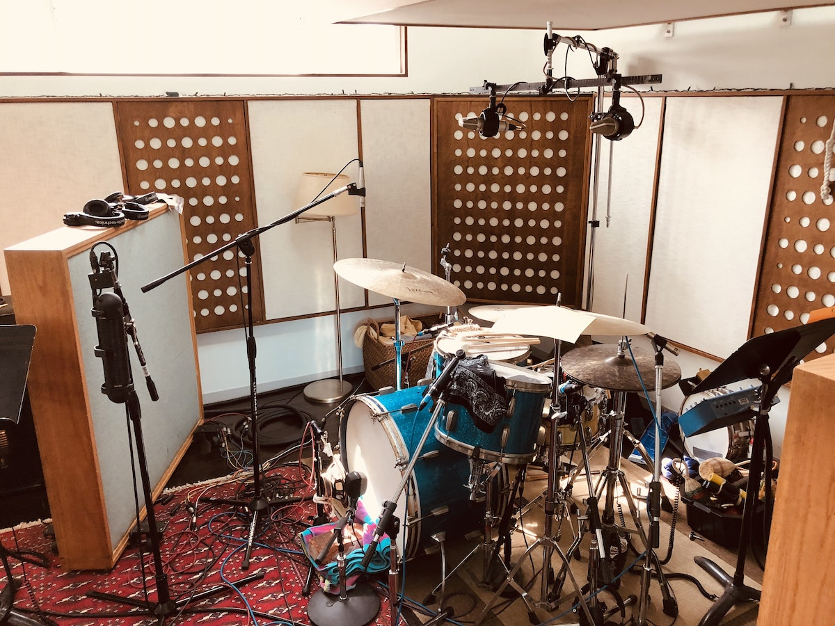 """BRIAN GRIFFIN RECORDS DRUMS AT LUCY'S MEAT MARKET FOR """"RUNAWAYS"""""""