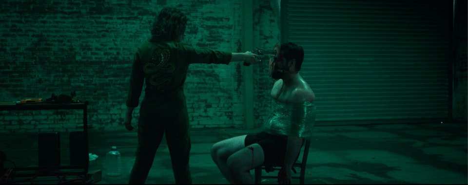 A blend of TARANTINO-ESQUE DEADPAN HUMOUR with the gloomy visuals of DAVID FINCHER