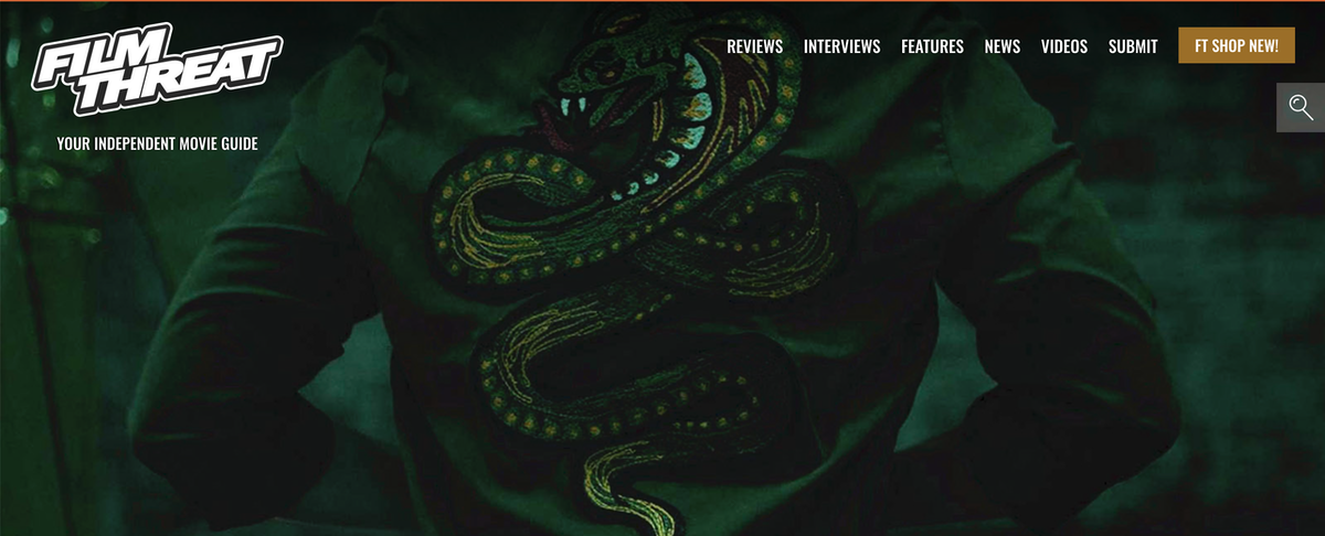 …the boss has special plans for the man's demise, and it comes in the form of THE GREEN COBRA!