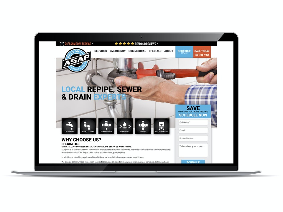 ASAP Plumbing & A/C