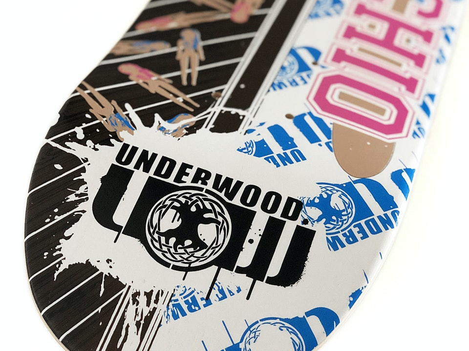 Underwood Skateboards - Pornochio Deck