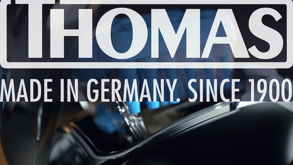 Thomas vacuum cleaner advertisement