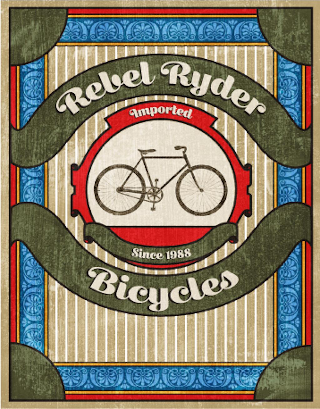 Rebel Ryder Bicycles, SCAD, 2014
