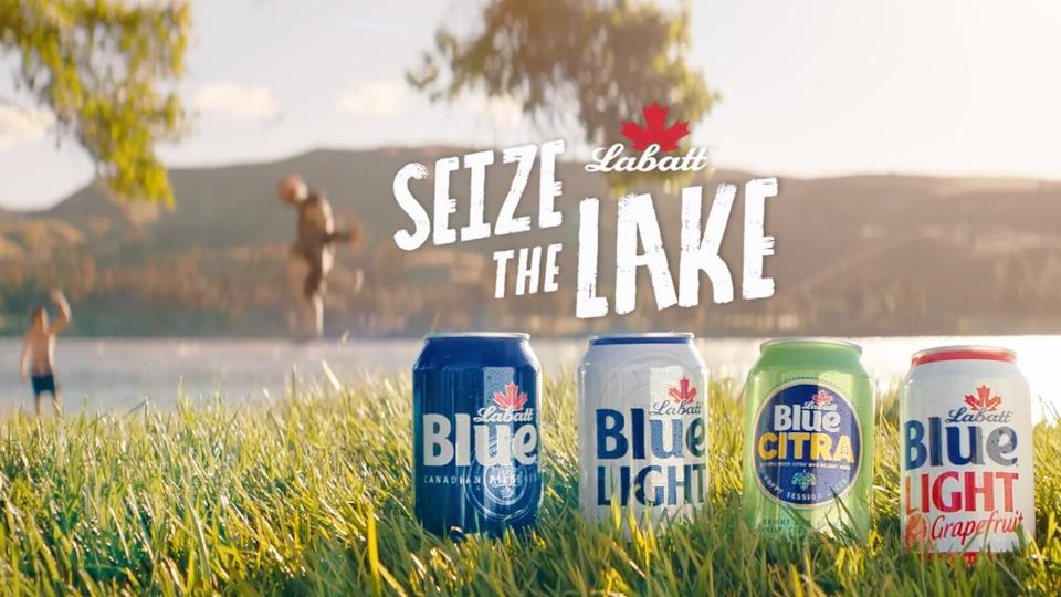 Labatt: 'Seize the Lake' -