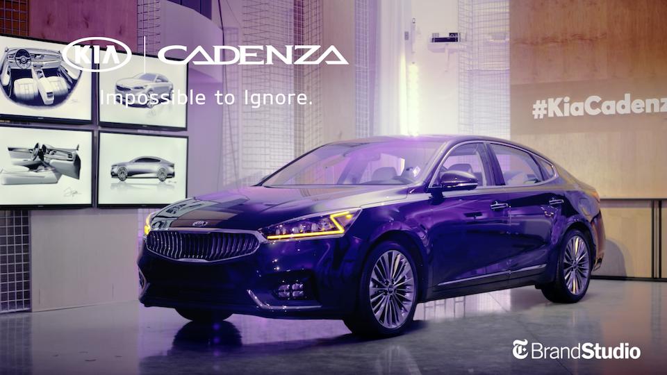 Kia Cadenza: Design Now