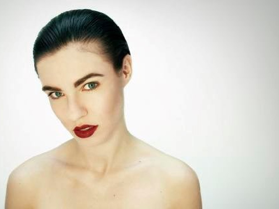 Beauty - Beauty shoot. Photo: Drew Whittam Hair and Make Up by Lucy Freeman Make Up for Test Beauty shoot.
