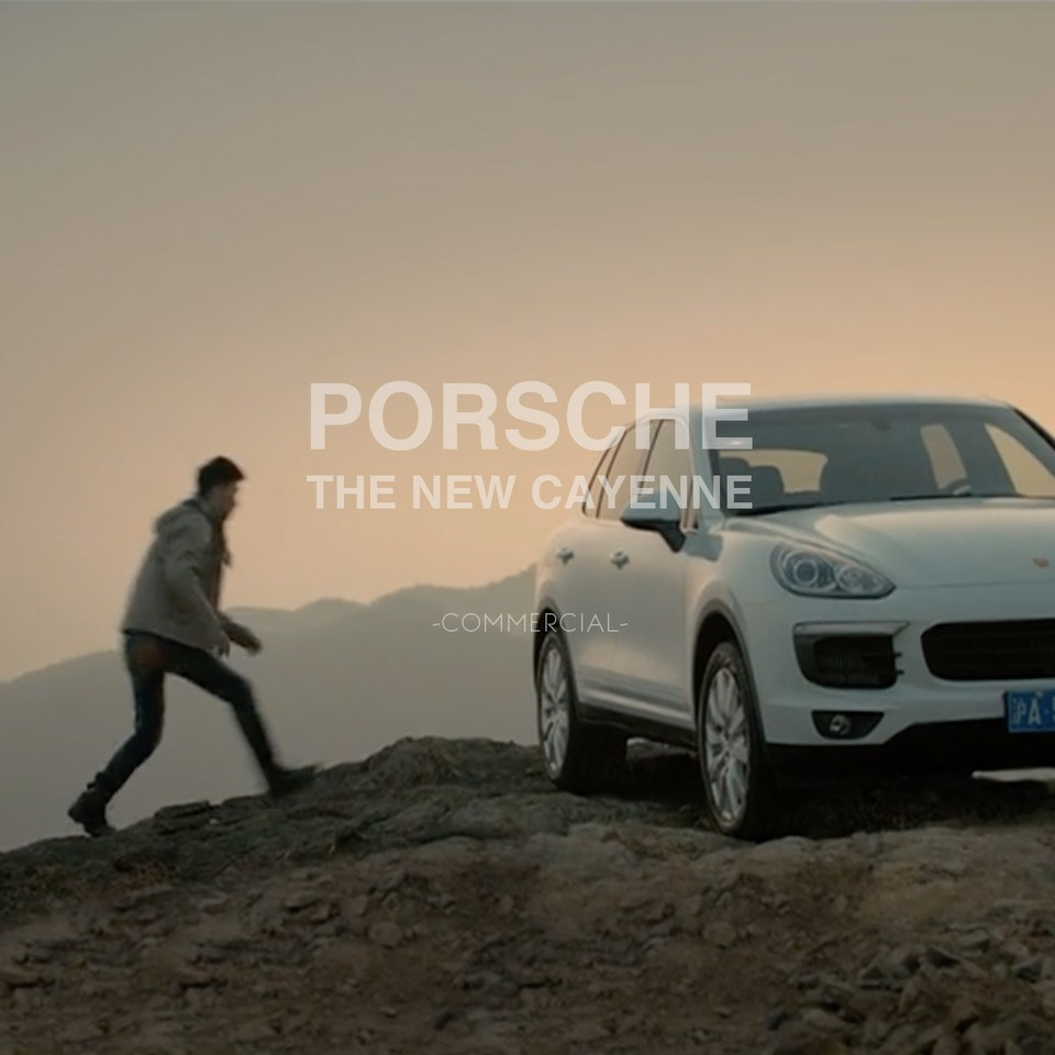 MARCOS MIJAN | FILMMAKER - The new Cayenne – Enthusiast Driven