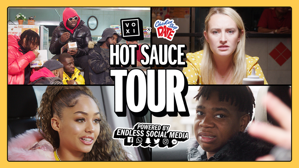 VOXI x CSD present Hot Sauce Tour
