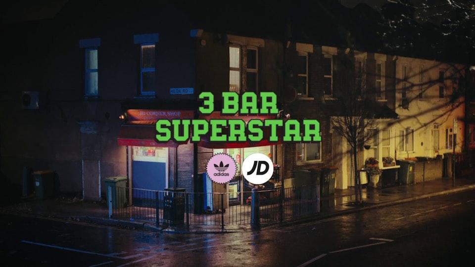 #3barsuperstar with Adidas Originals and Kano