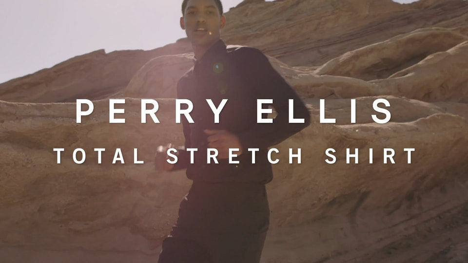 Perry Ellis FW18 Tech - Total Stretch Shirt