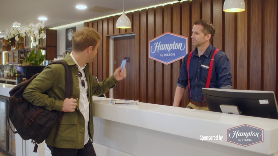 Hampton by Hilton 'Where's dave'