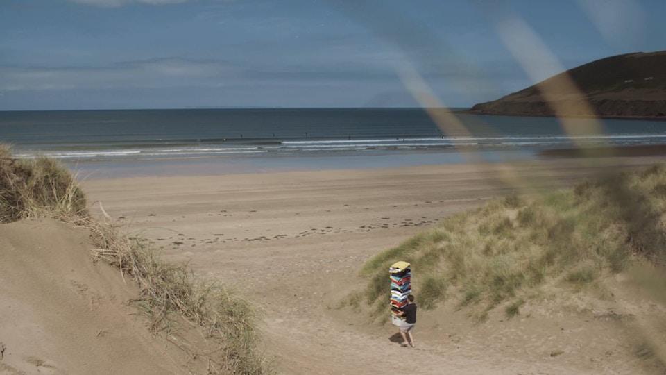 Premier League ident 'Beach Towels'