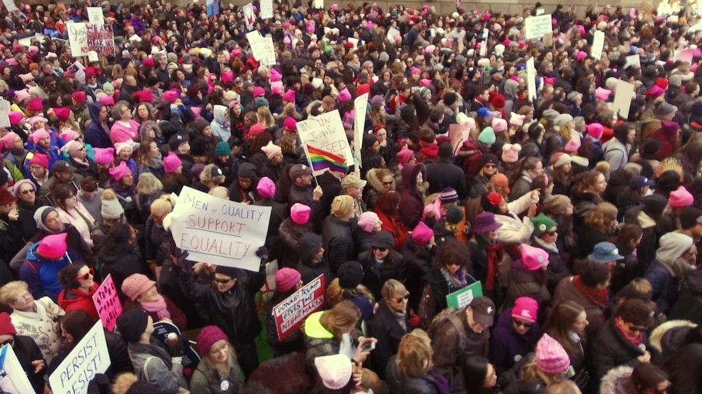 Bustle // Women's March Coverage 2018