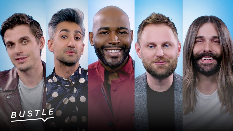 """Bustle // """"Coming Out with Queer Eye's Fab Five"""" -"""