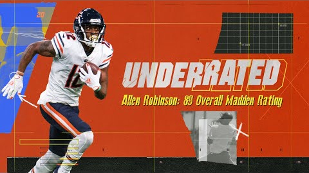 Allen Robinson Recreates Iconic Catches to Improve His Madden Rating | Underrated S1E7