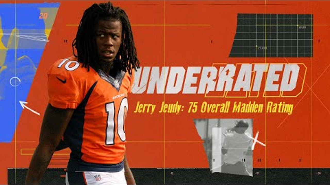 Broncos Rookie WR Jerry Jeudy Goes All Out to Up His Madden Rating | Underrated S1E1