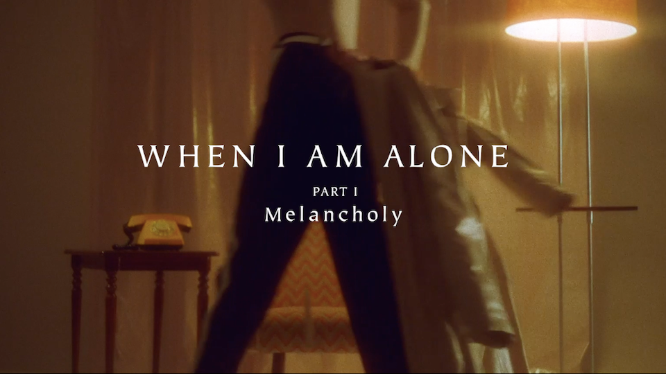 "Fashion film ""Melancholy"""