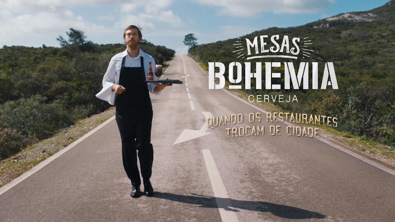 Mesas Bohemia - Quando os restaurantes trocam de cidade