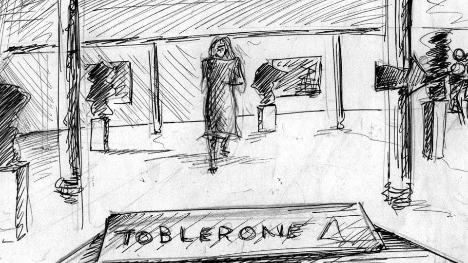 The Exhibit (60s TV Ad for Toblerone)