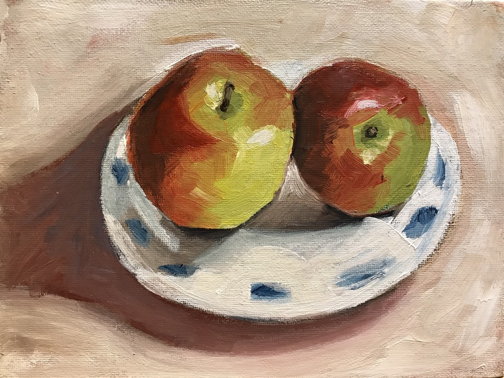 Green & Red Apples - SOLD