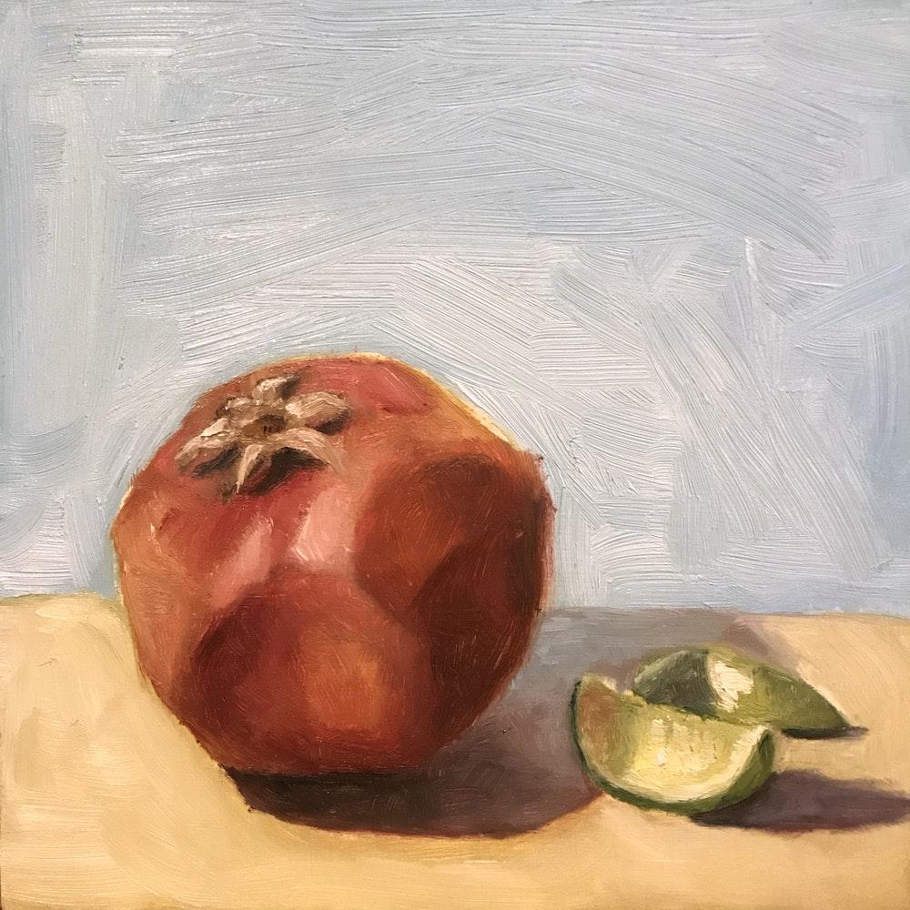 Pomegranate & Limes