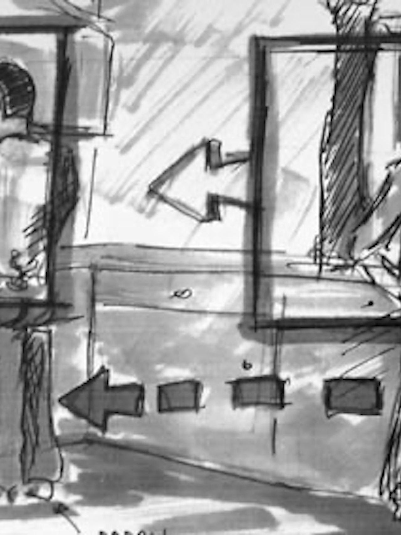 Surviving Sabu Storyboards (Award-winning film)