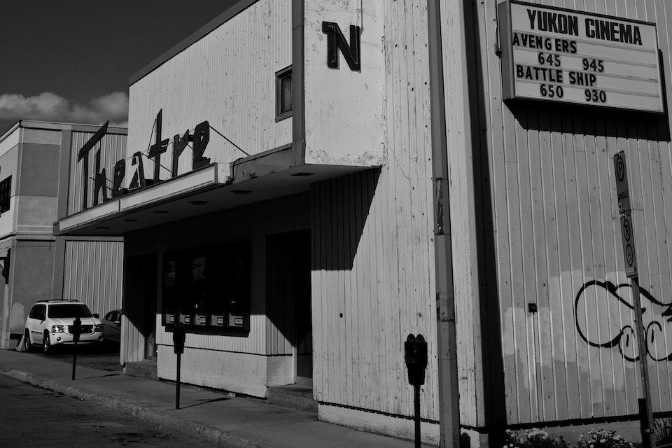 Architectural - Yukon Theatre, Whitehorse, Yukon Territory, Canada